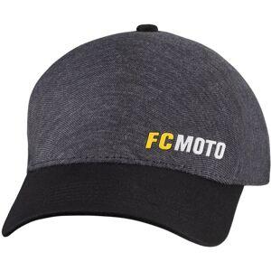 FC-Moto Logo-C Cap S M Svart Grå