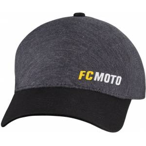 FC-Moto Logo-C Cap L XL Svart Grå