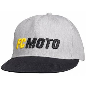 FC-Moto Faster-FC Cap en storlek Svart Grå