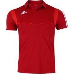 adidas Camisa Polo adidas Tiro 19 - Masculina - VERMELHO/BRANCO
