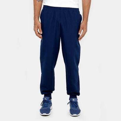 Calça Adidas Ess Stanford 2 Masculina - Masculino-Azul
