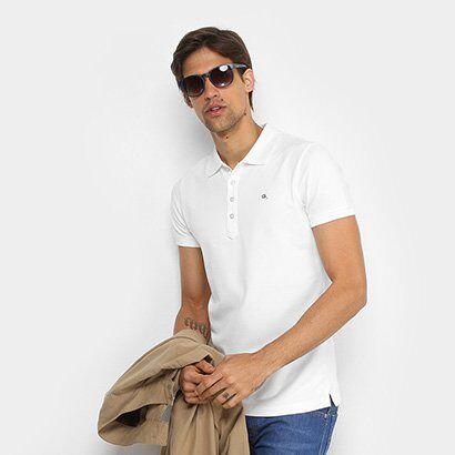 Camisa Polo Diesel T-HEAL SHIRT 00SW2T.00MXZ - Masculino-Branco