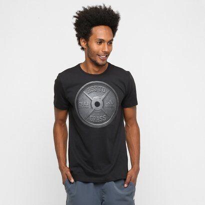 Camiseta Adidas Ass To Grass Masculina - Masculino-Preto