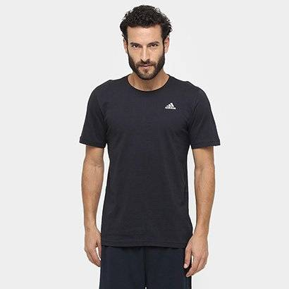 Camiseta Adidas Essential Base Masculina - Masculino-Preto