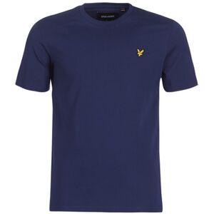 Scott Lyle   Scott  FAFARLIBE  Herre  Tøj  T-shirts m. korte ærmer herre H XL Blå