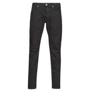 G-Star Raw  3301 SLIM  Herre  Tøj  Smalle jeans herre H 30 / 32 Sort
