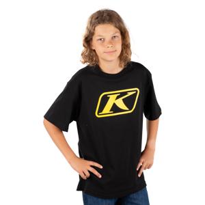 KLIM T-Shirt Klim Icon Junior Sort