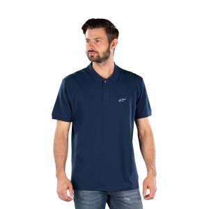 Polo T-Shirt Alpinestars Capital, Marineblå