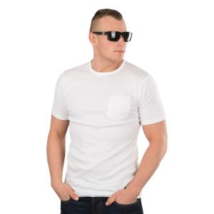 West Coast Choppers T-Shirt West Coast Choppers Jesse James Workwear Sturdy Pocket, Hvid Hvid