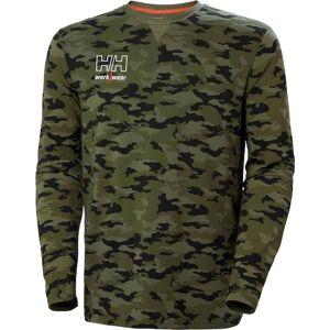 Helly Hansen Kensington Langærmet T-Shirt-Grøn-L L