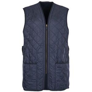 Barbour Polarquilt Waistcoat Zip-In Blå Blå XL