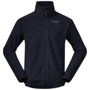 Bergans Men's Hareid Fleece Jacket Nohood Grå Grå XXL