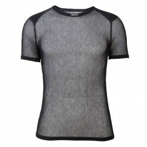 BRYNJE Wool Thermo T-shirt with Inlay Sort Sort M