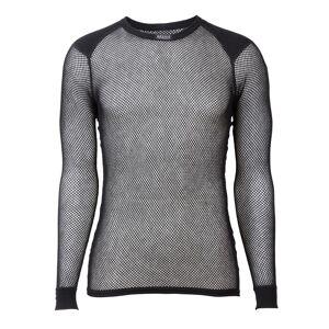 BRYNJE Wool Thermo Shirt with Inlay Sort Sort XS