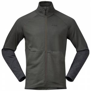 Bergans Men's Rabot 365 Wool Jacket Grøn Grøn M