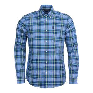 Barbour Highland Check 26 Tailored Fit Blå Blå S