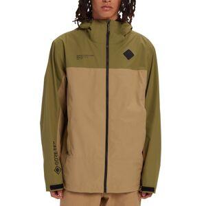 Burton Men's GORE-TEX Packrite Rain Jacket Grøn Grøn S