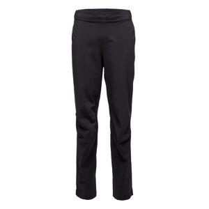 Black Diamond Men's StormLine Stretch Rain Pants Sort Sort XL