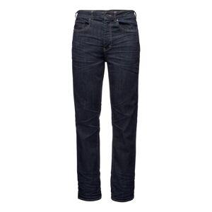 Black Diamond Men's Forged Denim Pants Blå Blå 33 Short