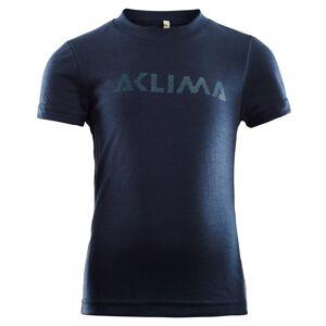 Aclima LightWool T-shirt Children Blå Blå 100