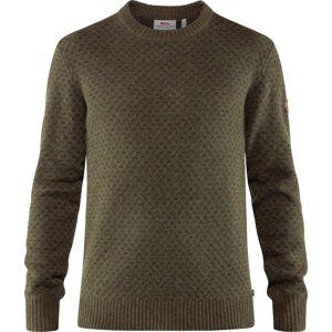 Fjällräven Men's Övik Nordic Sweater Grøn Grøn S