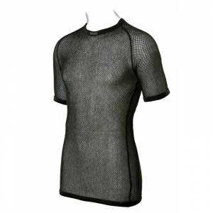 BRYNJE Men's Super Thermo T-shirt Sort Sort XS
