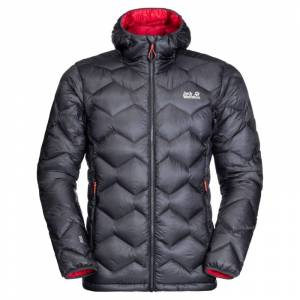 Jack Wolfskin Men's Argo Peak Jacket Sort Sort XXL