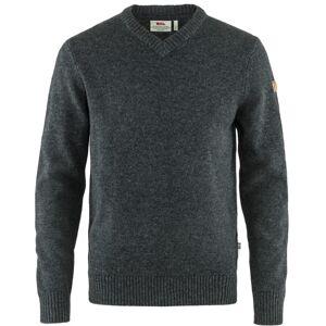 Fjällräven Men's Övik V-neck Sweater Grå Grå M