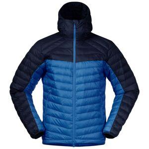 Bergans Men's Røros Down Light Jacket With Hood Blå Blå M