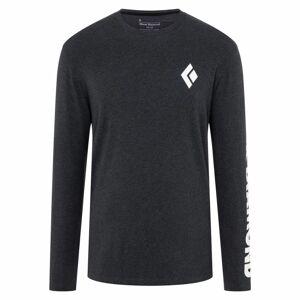 Black Diamond Men's BD Longsleeve Logo Tee Sort Sort XL