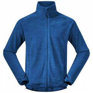 Bergans Men's Hareid Fleece Jacket Nohood Blå Blå M