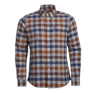 Barbour Ctry Check 5 Tailored Fit Men´s Shirt Orange Orange XL