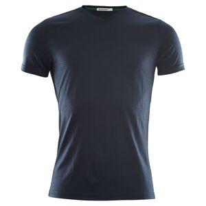 Aclima LightWool T-Shirt V-Neck Men Blå Blå S