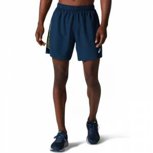 Asics Men's Icon 7in Shorts Blå Blå XXL