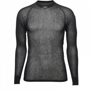 BRYNJE Wool Thermo Light Shirt Sort Sort 46-48