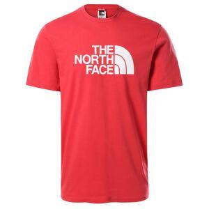 The North Face Men's Shortsleeve Easy Tee Rød Rød XL