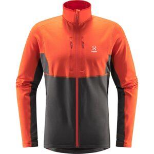 Haglöfs Roc Sheer Mid Jacket Men Orange Orange XL
