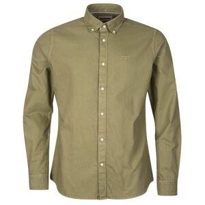 Barbour Oxford 13 Tailored Shirt Men´s Grøn Grøn M