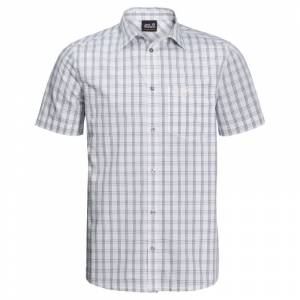 Jack Wolfskin Men's Hot Springs Shirt Hvid Hvid M