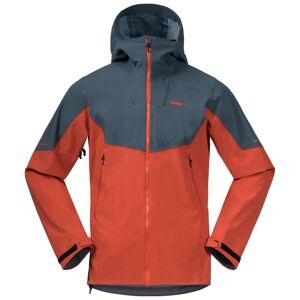 Bergans Men's Senja Hybrid Softshell Jacket Orange Orange L