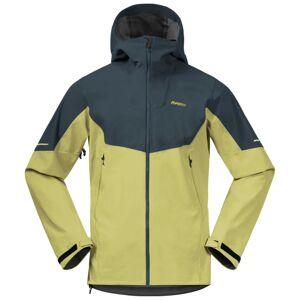 Bergans Men's Senja Hybrid Softshell Jacket Grøn Grøn XL