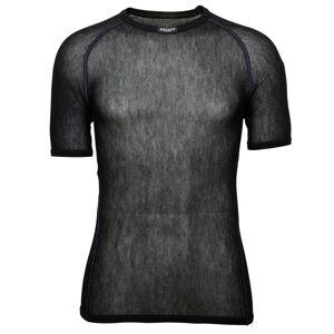 BRYNJE Men's Wool Thermo Light T-Shirt Sort Sort M