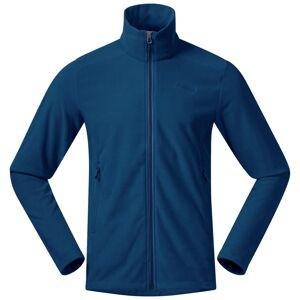 Bergans Finnsnes Fleece Men's Jacket Blå Blå M