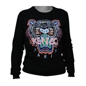 Kenzo Tiger Womans Sweatshirt Black/Light Pink L
