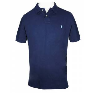 Ralph Lauren Slim Fit Polo Navy L