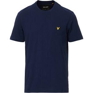 Scott Lyle & Scott Plain Crew Neck Cotton T-Shirt Navy men XXL Blå