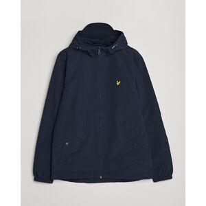 Scott Lyle & Scott Zip Through Hooded Jacket Dark Navy men XXL Blå