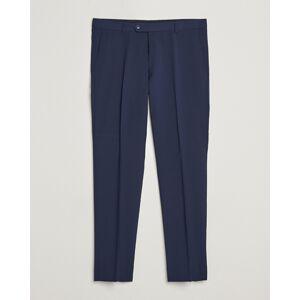 Oscar Jacobson Denz Wool Trousers Navy men 48 Blå