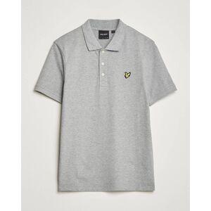 Scott Lyle & Scott Plain Polo Shirt Mid Grey Marl men XS Grå