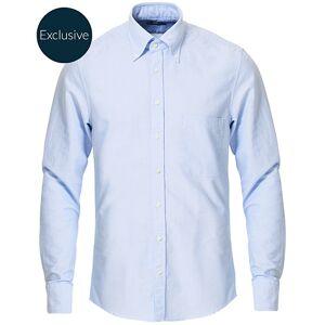 Stenströms Slimline Oxford Shirt Light Blue men 37 - S Blå